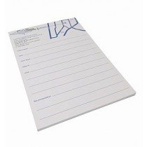 A5 Notepads with 1colour custom print