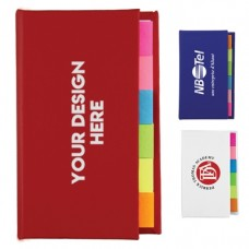 Logo Emblazoned Note Marker Books