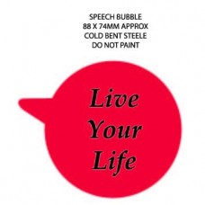 Promotional Rounded Speech Bubble