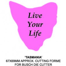 Promotional Tasmania Country Shape Sticky Note