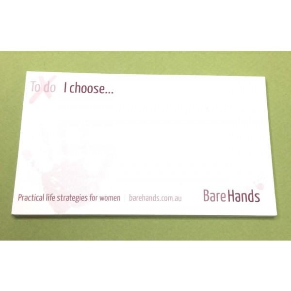 Promotional Post Its 12.5x7.5