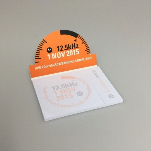 Flip-Up Promotional Sticky Pad
