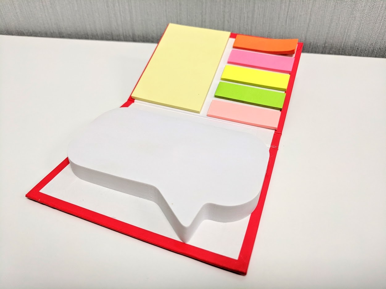 Sticky note combo set