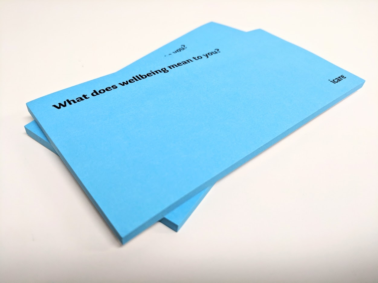 blue large sticky note