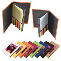 Branded Note and Adhesive Flag Books