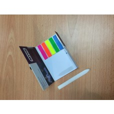 Combo Personalised sticky notepads & Pen