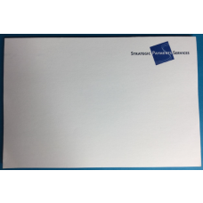Promotional sticky notes 20x15cm