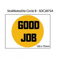 Small circle sticky note