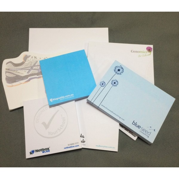 Printed Post-it® Notes 100x75 Coloured Paper