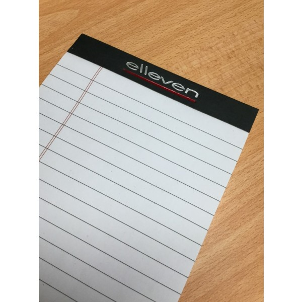 A3 Notepads with a full colour print