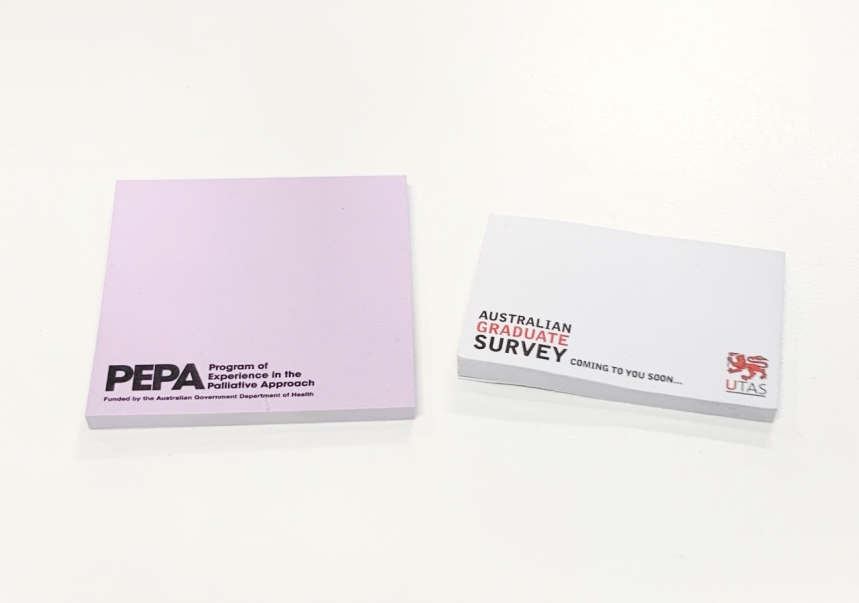 Branded Adhesive Notes 2021
